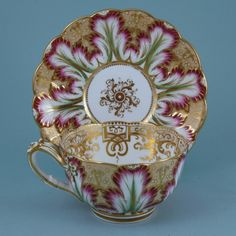 English Porcelain Breakfast Cup & saucer (England)