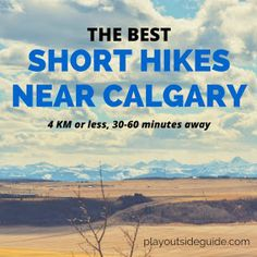 Whether you are on short on time or will be out and about with little hikers, it helps to have a selection of attainable hikes close to hom...