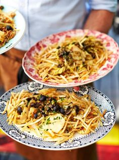 Yummy looking Portuguese dish from Jamie and Jimmy's Friday Night Feast by Paloma Faith