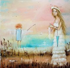 Original oil painting by Monica Blatton