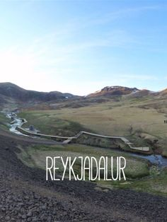 Reykjadalur an amazing one hour hike that rewards you with a soak in the steamy hot river. Perfect experience for a short stay in Iceland.