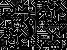 graphicdesignblg:Getting Tribal by MUTITwitter || Source