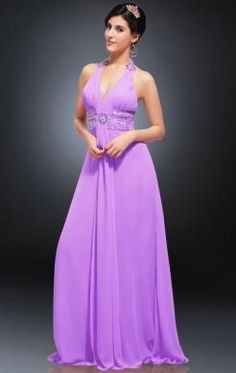Online Long Lilac Tailor Made Evening Prom Dress (LFNAE0124)