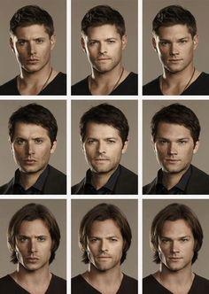 Supernatural guys. YUM!