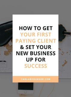 How to quite your job and start your own #business! // Carla Biesinger
