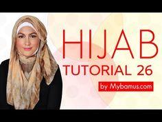 ▶ Hijab Tutorial 26 by Mybamus.com - YouTube