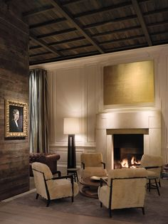 Cozy space @ the Public Hotel, Chicago #Design #Interior