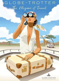 Jason Brooks Art | The Elegance of Travel by Jason Brooks | Art