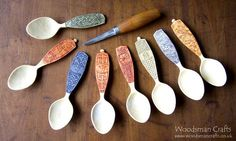Spoons by Woodsman Crafts
