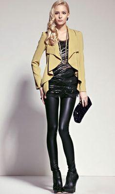 #women's fashion #leather