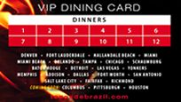 Great promotion at Texas de Brazil that benefits CCF! Get your VIP dining card today!