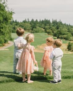 Hanna And Stephen's Wine Country Wedding - The Four Children