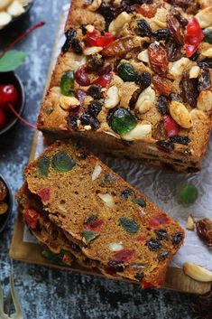 ideas fruit cake cookies recipe kitchens for 2019 English Fruit Cake Recipe, Fruit Cake Cookies Recipe, Rum Fruit Cake, Cookie Recipes, Fruit Cakes, Marmer Cake, Resep Cake, Steamed Cake, Fruit Salad Recipes