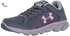 Under Armour Ua W Micro G Assert 6, Chaussures de Running Femme, Gris (Apollo Gray), 38 EU - Chaussures under armour (*Partner-Link)