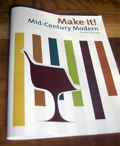 Make It! Mid-Century Modern - A book or downloadable PDF containing 12 Mid-century inspired how-to projects | $9.99 for the PDF at www.curbly.com/make-it-mid-century