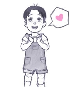 Kid marco:*has just seen jean for the first time*