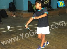 We congratulates YoChamp ,Shruti Chouhan  for being runner-up with 15-5, 15-2 in Girls Singles U9 YoGems Badminton Championship Series,Noida