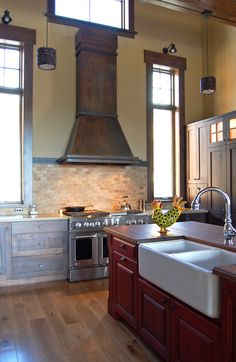 Gallery | Range Hoods & Kitchens | Handcrafted Metal by Raw Urth