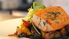 Make baked salmon with fresh herbs for a dinner that is rich in Omega-3. The herbs make a flavorful mouthful as well. Get this seafood recipe at PBS Food.