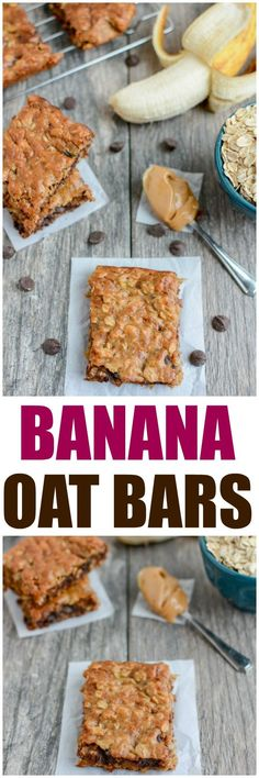These Easy Banana Oat Bars are gluten-free, dairy-free, kid-friendly and make the perfect snack. Grab the kids and try this recipe today!