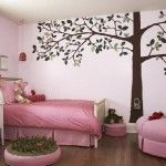 Girls Bedroom Wall Mural sample pictures