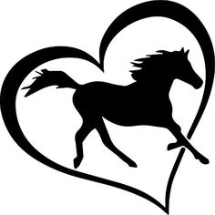ANGDEST [Set of Horse Love (Black) - Handmade - Premium Quality - Waterproof Vinyl Decal Stickers for Laptop Phone Helmet Car Window Bumper Mug Tuber Cup Door Wall Decoration >>> For more information, visit image link. (This is an affiliate link) Horse Stencil, Horse Silhouette, Car Bumper Stickers, Love Symbols, Horse Love, Diy Painting, Vinyl Decals, Stencils, Horses