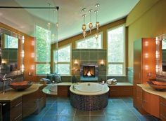 Someday I will have a large luxurious bathroom of my own...