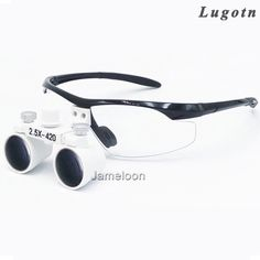 38.00$  Buy here - http://aliqcc.shopchina.info/1/go.php?t=32573953029 - 2.5X factory price adjustable eye distance surgical magnify teeth magnifier enlarge glasses dental loupe  #buychinaproducts