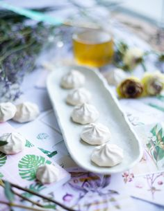 Sugar-free Aquafaba Marshmallows! Recipe at https://instagram.com/p/BfF3g_lBjqu/