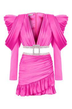 like this dress? find more on our website #farnazsalmanidress Pink Mini Dresses, Fashion Show, Elegant, Stuff To Buy, Weddings, Website, Polyvore, Runway Fashion, Dapper Gentleman