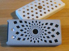 Check out Brixometer Case - Sunflower by oopsclunkthud on Shapeways and discover…