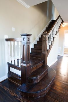 1911 Craftsman Staircase In 2019 My Favorite Interiors