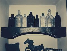 old apothecary jars