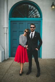 Modern San Diego Engagement + WIUP - Style Me Pretty
