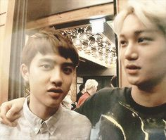 Kaisoo moment.. that stare ..  hehe