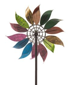 Another great find on #zulily! Whirling Kinetic Spinner Garden Stake #zulilyfinds