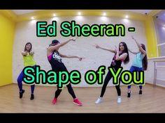 (17162) Ed Sheeran - Shape of You | Zumba Fitness | Dance choreo by Ilona Regothun - YouTube