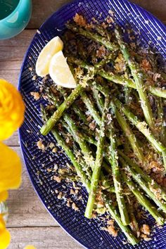 6 Easy, No-Fail Recipes For A Tasty Easter Brunch At Home #refinery29  http://www.refinery29.com/easter-brunch-recipes#slide-5  Citrusy, crunchy, and delicious, lemon panko Parmesan asparagus is the perfect side dish for any meal — especially brunch.