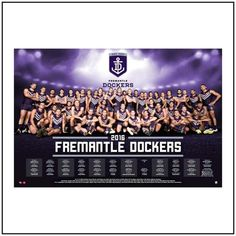 Father's Day Special! framed 2016 Fremantle team posters were $195ea now $99.50 #memorabilia #fremantlefootballclub #dockers #fathersday #perth