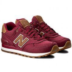 Sneakersy NEW BALANCE - ML574TXD Bordowy