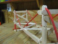 Popsicle Suspension Bridge