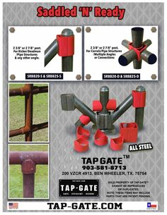 9 Best Saddled N Ready Pipe Fence Fittings Images In