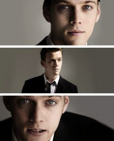Jake Abel (also, the photographer lit this gorgeously)>> at first i thought this was Logan...