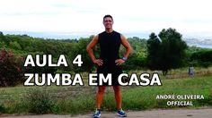 AULA 4 - ZUMBA EM CASA COM ANDRÉ OLIVEIRA, AULA COMPLETA, SIMPLES E COM ...