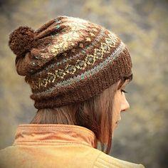 Ravelry: Sueza's Brownie fair-isle hat
