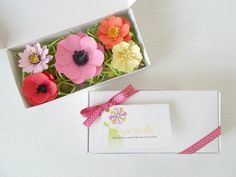 Plantable Paper Flower and Seed Bomb Sample Set - Unique Gardening Gift - Eco Friendly Paper Embedded with Flower Seeds! Blue Flowering Shrubs, Seed Bombs, Soil Layers, Seed Paper, Eco Friendly Paper, Wildflower Seeds, Garden Gifts, Paper Flowers, Diy Crafts