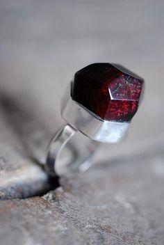 loving this garnet ring