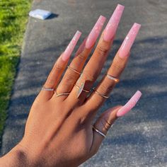 50 Cute Fall Nail Designs, Ideas & Colors You Should Try Claw Nails, Aycrlic Nails, Bling Nails, Hair And Nails, Stiletto Nails, Pointed Nails, Summer Acrylic Nails, Best Acrylic Nails, Summer Nails