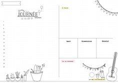 [Bullet journal] Planning mensuel, annuel, hebdomadaire et quotidien - Vie de…