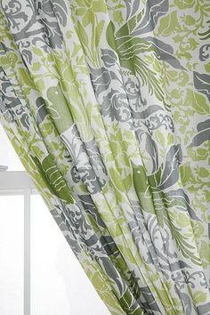 Bird Flourish Curtain - Urban Outfitters